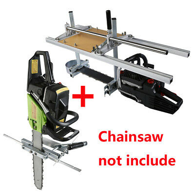 """Portable Chain Saw Mill Log Planking & Strip Lumber Cutting fit 14"""" - 36"""" Chains"""