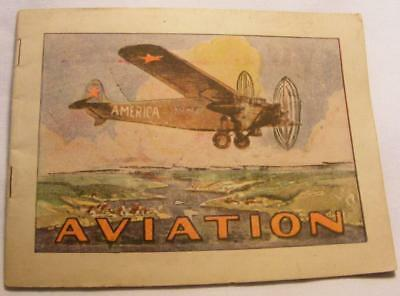Antique, American, Aviation Pamphlet. Vintage Collectible Book.