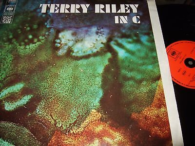 Terry Riley : In C Avantgarde Lp Cbs Music Of Our Time France