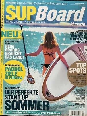 SUP Board Magazin – STAND UP PADDLE – World of SuP  01/2018