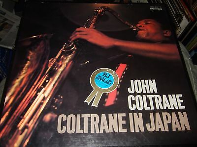 John Coltrane : Coltrane In Japan 3Lp Box Impulse Imr 9036 Japan