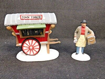 """Department 56 """"town Tinkers"""" Heritage Village #5646-4"""