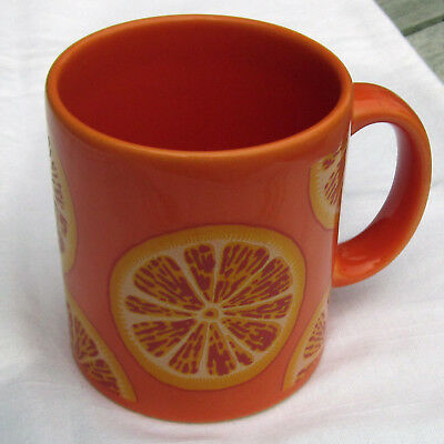 "Waechtersbach Tasse "" Orange "" Kaffeebecher"