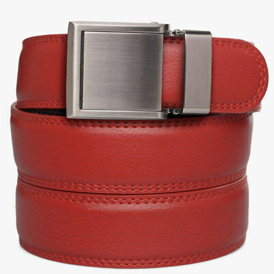 443a448c SlideBelts Factory Seconds Adobe Tan Brown Full Grain Leather Ratchet Belt  Gürtel