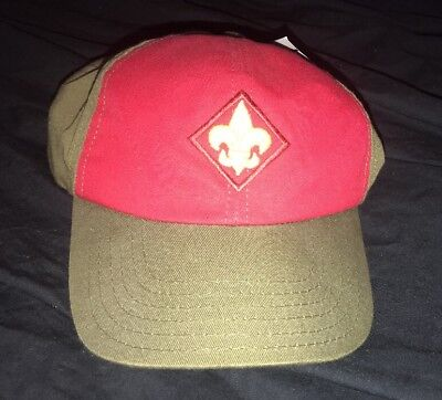 Vintage BSA Boy Scouts Adjustable Baseball Hat USA Made Snapback