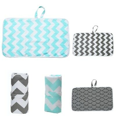 Baby Boys Girls Reusable Changing Pad Portable Changing Mat for Diaper Change