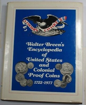 "1977 Walter Breen's ""Encyclopedia of US and Colonial Proof Coins"" RSE B14"