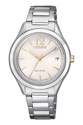 Citizen Eco-Drive FE6124-51A 'Chandler' Women's Stainless Steel Date Watch