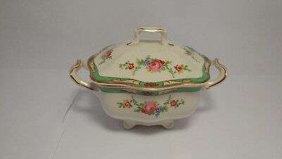 Johnson Brothers Pareek The Connaught Sugar Bowl With Lid