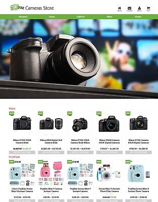 Established Camera Store Profitable Website Business For Sale - Dropshiping