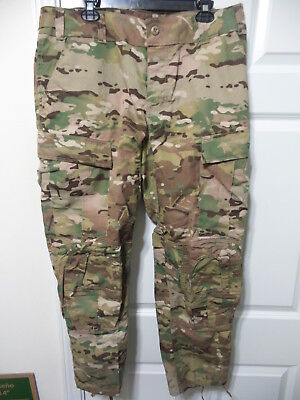 Brand New Large Short Army Usaf Combat Pants Ocp Multicam W/crye Knee Pads Cut