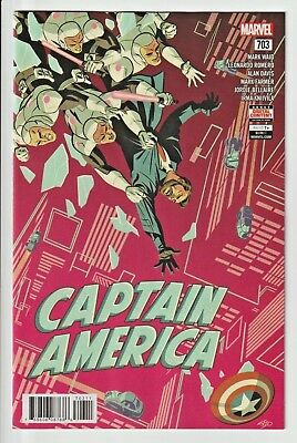 Captain America  #703      * First Print *    Nm