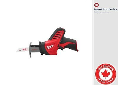 New Milwaukee M12 12-Volt Hackzall Recip Saw (2420-20) (Tool Only - No Battery)