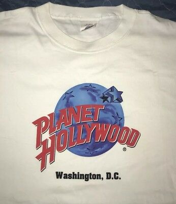 NEW Planet Hollywood Shirts - Two XL Shirts - DC & Indianapolis