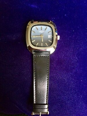 Lanco Automatic Swiss Made Watch 1960s New Old Stock Stainless Steel 62014