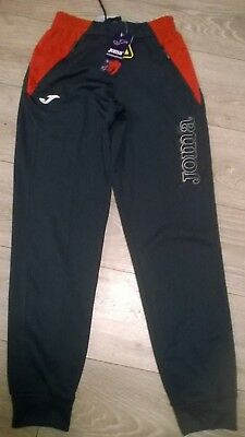 """Girls blue track tracksuit pants trousers JOMA Size XS Waist 24""""-28"""" Age 14  NEW"""