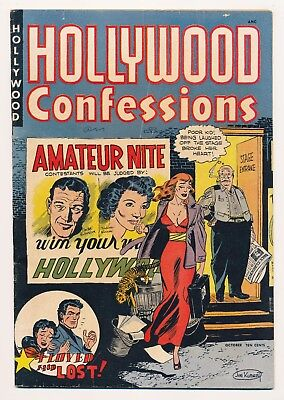 Hollywood Confessions (1949) #1 FN+ Hard to find