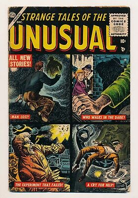 Strange Tales of the Unusual (1955) #1 VG+ Hard to find