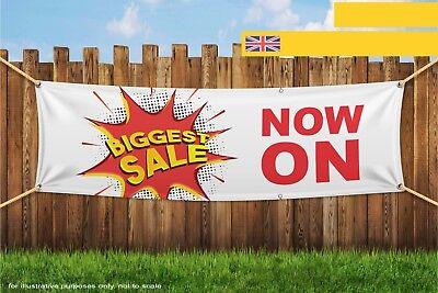 Biggest Sale Now On Heavy Duty PVC Banner Sign 3279