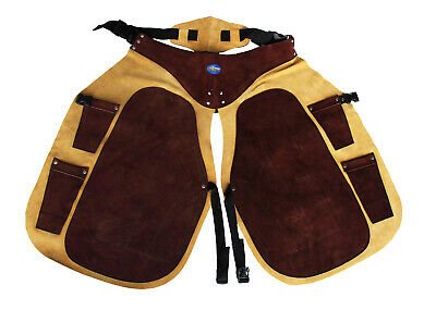 Pro Equine Western Leather Fully Adjustable Horse Farrier Apron Fits ALL 23116