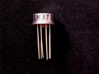 LM372H - LM372 National Semiconductor AM / IF Strip (TO-5 Can)