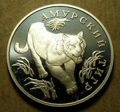 Russia 1993 Silver Proof 1 Rouble