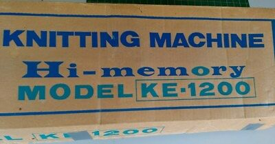 Lemair KE1200 Knitting Machine and accessories in perfect condition