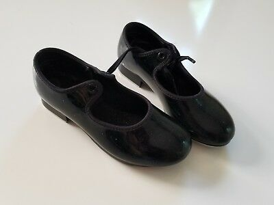 bloch girls tap shoes GUC 10N