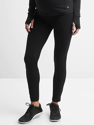 NWT-Gap Black GapFit Gfast Full Panel Legging-XL