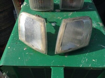 ford escort cosworth front side Lights  Xr3i Rs2000 Genuine Parts