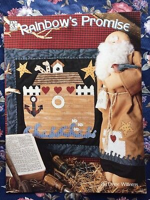 Rainbow s Promise, Doll and Quilt Patterns: Noah  & Ark Quilt