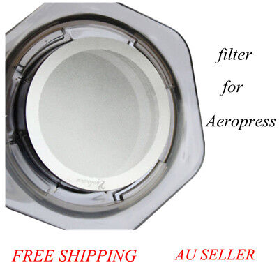 New Metal Stainless Steel  Filter Coffee Filter Pro & Home for AeroPress!