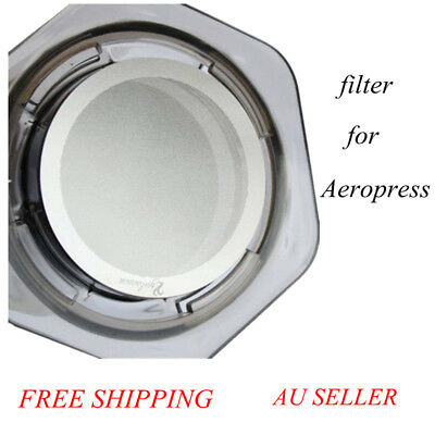 Ultra Fine Metal Filter Stainless Steel Coffee Filter Pro & Home for AeroPress!