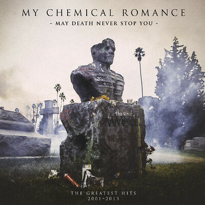 My Chemical Romance - May Death Never Stop You - 2 x Pink Marbled Vinyl LP *NEW*