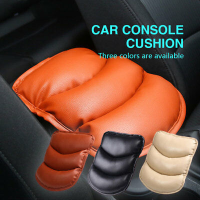 Car SUV Center Box PU Armrest Console Soft Pad Cushion Cover Wear Durable 3color