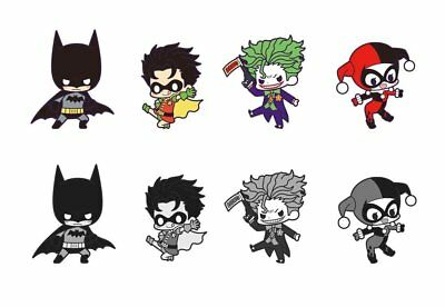 *NEW* Batman: Rubber Strap Assortment (Display of 8) Cell Phone Charm