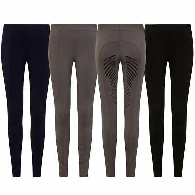 GS Equestrian Womens Silicone Horse Riding Tights Breeches Legging Tights