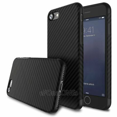 Shockproof Armor Carbon Fiber Hybrid Phone Case Silicone Cover For iPhone SE 5s
