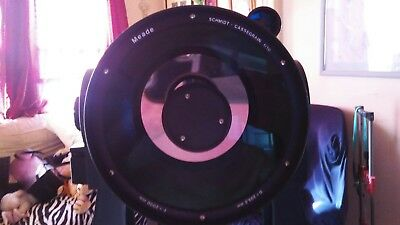 "Meade 8""lx200 emc cassagrain telescope with electroncs upgrade"