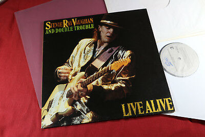 Stevie Ray Vaughan  LIVE ALIVE  -  Epic EPC 4502381 Holland 2 LP-Set sehr gut