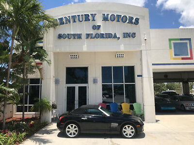 2006 Chrysler Crossfire  Heated Leather Spoiler Alloy Wheels Low Miles CD Cruise