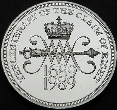 GREAT BRITAIN 2 Pounds 1989 Proof - Silver - Claim of Rights - 2374 ¤