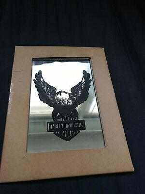 Extremely rare size Harley Davidson Vintage carnival prize mirror 70s?