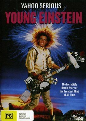 Young Einstein - Yahoo Serious - New & Sealed DVD