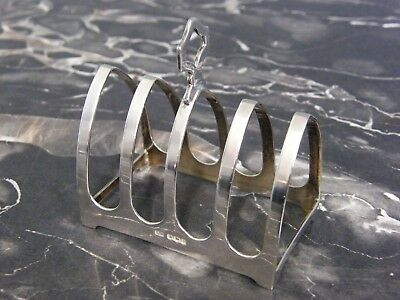 Antique Solid Silver Toast Rack