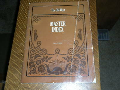 Time Life the Old West the Master Index