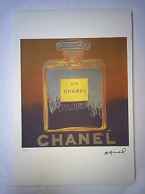 Andy Warhol Lithographie 57 x 38 Arches France Timbre Sec Galerie Art A141