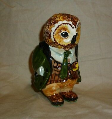Rye-Cinque Ports Pottery Country Gentlemen Oliver Owl