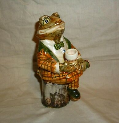 Rye-Cinque Ports Pottery Country Gentlemen Terence Toad