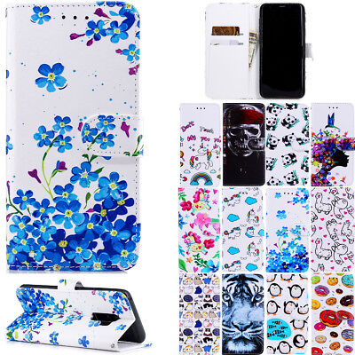 New Hot Flip Wallet Leather Magnetic Card Stand Case Cover For Samsung Galaxy S9